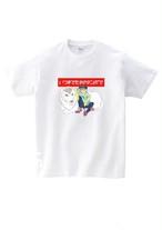 ライオンガールカラフルTシャツ