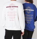 予約注文商品 ワールドフェイマスMTM ★UNISEX MTM トレーナー スウェット 韓国ファッション