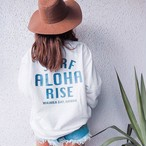 ALOHA RISE sweat - Vintage White(12月上旬発送予定)