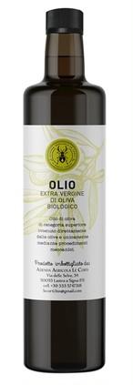 EXV.オリーブオイル Biologico 500ml Azienda Agricola Le Corti