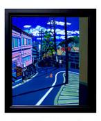 油彩画* 熱海の散歩道*2017