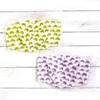 【Ranunculus】立体布マスク(ワイヤー入り・亀)・大人用サイズ/マスク