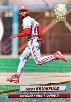 MLBカード 92FLEER Jacob Brufield #481 REDS ルーキーカード