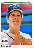 MLBカード 90UPPERDECK Dale Murphy #533 BRAVES