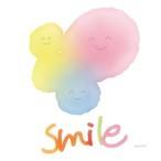 絵画 インテリア アートパネル 雑貨 壁掛け 置物 おしゃれ ハッピー 幸せ 笑顔 ロココロ 画家 : MINI 作品 : HAPPY SMILE