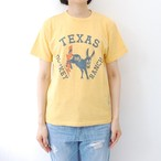 "Velva Sheen ""TEXAS D.RANCH""TEE / YELLOW"