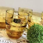 TOYO GLASS アンバーカラーコップ
