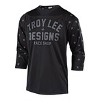 TROY LEE DESIGNS RUCKUS STAR JERSEY 2018 BLACK / WHITE