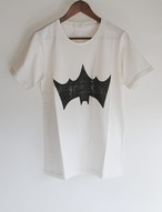 BACKASSED BAT T-SH original white
