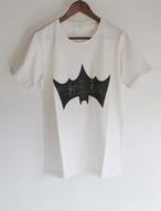 BACKASSED BAT T-SH original white