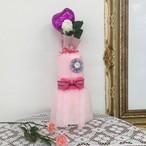 オーガニックおむつケーキ・SSサイズSサイズ・ピンク・Kfj's dress wrapping gift P&3M