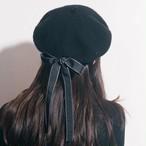バックリボンベレー帽 U1633