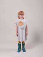 BOBO CHOSES ボボショセス Pet A Lion Jersey Dress size:2-3Y(95-100)・4-5Y(100-110)