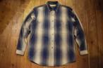 USED パタゴニア ヤーンダイワークシャツ L/S コットンシャツ M  90s インディゴ