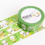 【ロク】マスキングテープ「奈良編-ROKUの奈良ガイド-」