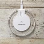 特価★Qi対応ワイヤレス充電器(iPhoneX、iPhone8なら簡単!置くだけ充電)◆送料無料