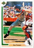 MLBカード 91UPPERDECK Dan Pasqua #605 WHITE SOX