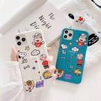 【オーダー商品】グリップ付き Dog friend iphone case