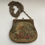 1900' Antique Petit Point Bag _02 アンティークタペストリー プチポワン刺繍バッグ