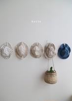 【予約販売】linen hat