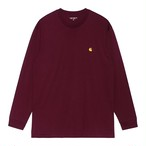 Carhartt (カーハート) L/S CHASE T-SHIRT - Jam / Gold
