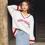 【新作10%off】casual girls sweater 2745