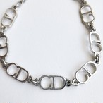 """Dior"" silver CD bracelet[h-94]"