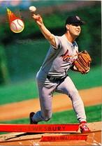 MLBカード 93FLEER Bob Tewksbury #114 CARDINALS