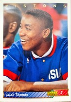 NBAカード 92-93UPPERDECK Isiah Thomas #263 PISTONS