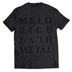 "Alphoenix ""MDM II"" FULL BLACK T-Shirt"