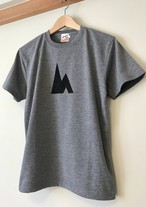 hs-16 ACTIVE 『SIMPLE』 T-SHIRT ・ヘザーグレー