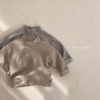 【予約販売】border high-neck T-shirt〈BELLA BAMBINA〉【baby】