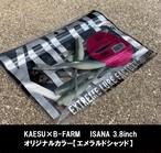 ISANA 3.8inch B-FARMオリジナルカラー【エメラルドシャッド】