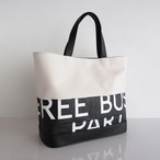 Tote Bag (S) / White  TSW-0012