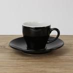 【SL-0002】 磁器 コーヒーソーサー 黒