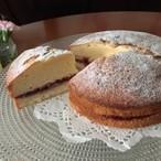 ヴィクトリアンサンドイッチケーキ 〈ラズベリージャム〉