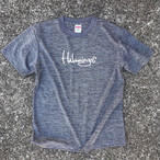 Hulamingos 2009 logo  T-SHIRTS heather charcoal