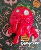 【Berryelxxx】【ピアコレ・キューティナイトメア】a4110003  ☆No.3  ☆いちごガナッシュ     ブローチ