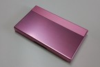 アルミニウム製名刺カード入れ ピンク色