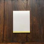 Letter pad / 黄檗色