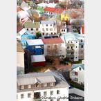 No.1-サイズS『Downtown of Reykjavik』