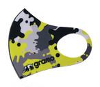 立体スポーツマスク「splash-mask」(グレー/M-002)