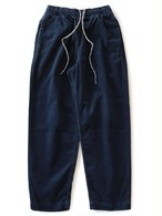 Elastic Cord Baggies Pants / Navy