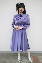 Wisteria purple dress