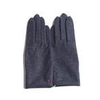 佩 手袋(C/#24 杢ブラック) ウール100% 手が細くキレイに見える