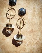 hematite × gold × shell × silver  《再販なし》