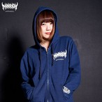 MARRION APPAREL LOGO DENIM ZIPPER