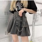 《ランキング19位》ポシェット付ミニスカート(全2色) / HWG219