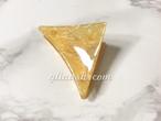 マーブル柄三角ヘアクリップ