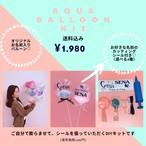 【送料込み】Aqua Balloon KIT